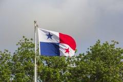 Markierungsfahne von Panama Lizenzfreies Stockfoto