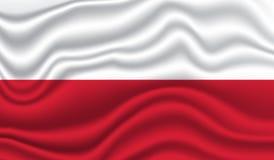 Markierungsfahne von Polen Lizenzfreie Stockfotografie