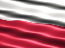 Markierungsfahne von Polen Lizenzfreie Stockbilder