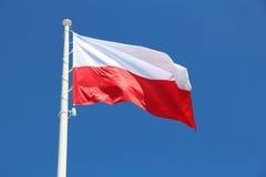 Markierungsfahne von Polen stockbild