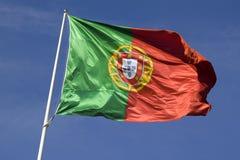 Markierungsfahne von Portugal Lizenzfreie Stockfotos
