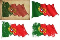 Markierungsfahne von Portugal stock abbildung