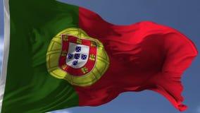 Markierungsfahne von Portugal lizenzfreie abbildung
