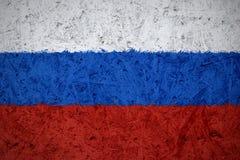 Markierungsfahne von Russland Lizenzfreie Stockfotografie