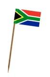Markierungsfahne von Südafrika lizenzfreie stockfotos