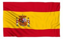 Markierungsfahne von Spanien Stockbilder