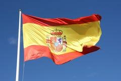 Markierungsfahne von Spanien Lizenzfreie Stockfotografie