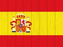 Markierungsfahne von Spanien Stockfotografie