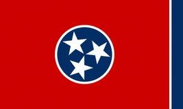 Markierungsfahne von Tennessee Lizenzfreie Stockbilder