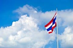 Markierungsfahne von Thailand stock abbildung