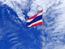 Markierungsfahne von Thailand Stockfoto