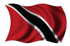 Markierungsfahne von Trinidad lizenzfreie abbildung