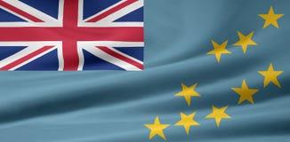 Markierungsfahne von Tuvalu Lizenzfreies Stockbild