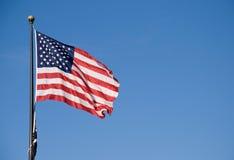 Markierungsfahne von USA Lizenzfreies Stockfoto