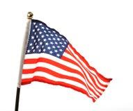 Markierungsfahne von USA Lizenzfreie Stockfotografie