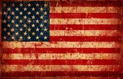Markierungsfahne von USA Stockbild