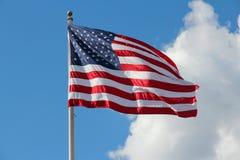 Markierungsfahne von USA Lizenzfreie Stockfotos