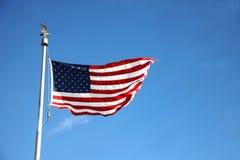 Markierungsfahne von USA Lizenzfreie Stockbilder