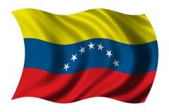 Markierungsfahne von Venezuela Stockfotografie
