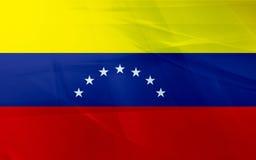 Markierungsfahne von Venezuela Stockfotos