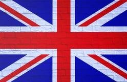 Markierungsfahne von Vereinigtem Königreich stockfotos