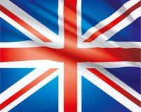 Markierungsfahne von Vereinigtem Königreich Lizenzfreies Stockbild