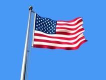 Markierungsfahne von Vereinigten Staaten Lizenzfreie Stockfotografie