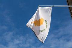 Markierungsfahne von Zypern Stockbilder