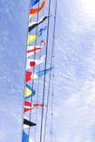 Markierungsfahnen Stockbilder