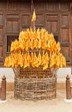 Markierungsfahnen des Rades des des Buddhas Gesetzes Lizenzfreie Stockfotografie