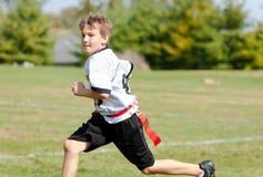Markierungsfahnen-Fußball-Spaß Lizenzfreies Stockbild