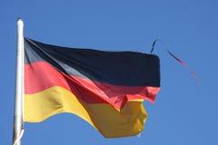 Markierungsfahnen von Deutschland Lizenzfreies Stockfoto