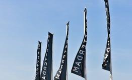 Markierungsfahnen von Rotterdam stockfotos