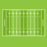 Marking. The field of play American football Stock Photos