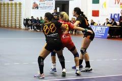 Marking handball Royalty Free Stock Photos