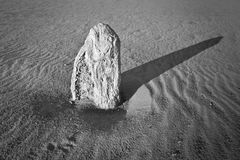 Marking Time, The Pinnacles Royalty Free Stock Images