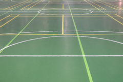 Markings on the floor in the gym. Image of markings on the floor in the gym Stock Photo