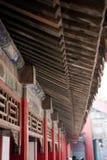 Markise in einem chinesischen Palast Lizenzfreie Stockbilder
