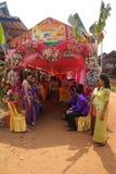 Markiza namiot dla poślubiać Zdjęcia Royalty Free