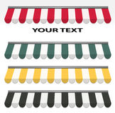 markizy barwią różni cztery Obraz Stock
