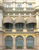 markizy fasadowe Obraz Stock