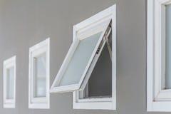 Markizy okno otwarty Fotografia Stock