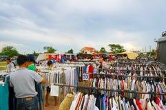 marknad Arkivfoto
