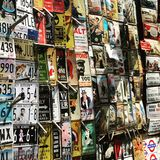 marknad arkivfoton