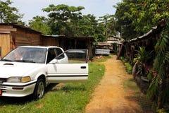 Marknad av hemslöjder, Douala, Kamerun Royaltyfri Foto