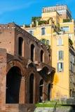 Marknad av Trajan i Rome Arkivbilder
