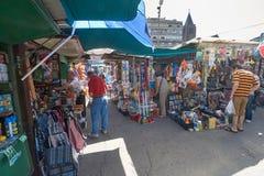Marknad för öppen luft i Belgrade Arkivfoto