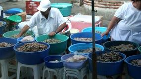 marknad för 2 fisk Arkivfoto