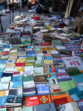 Marknad för andrahands- bok Royaltyfria Foton