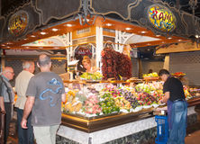 Marknad för St Josep Arkivfoton
